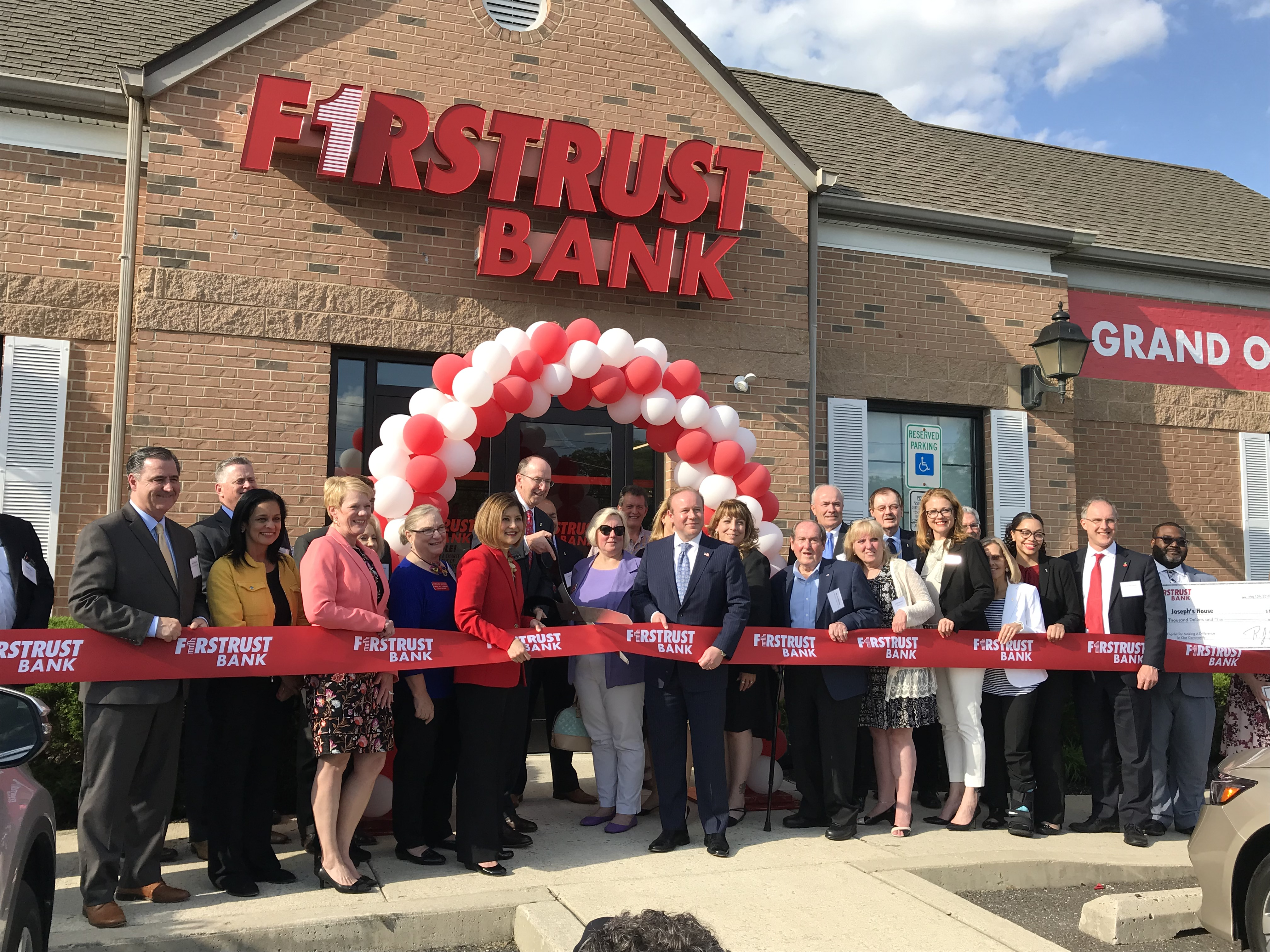 First Trust Bank Grand Opening Business Entitlement Services